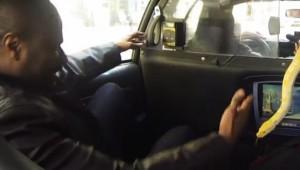 タクシー運転手の過激なドッキリ!!