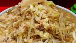 ラーメン二郎でデカ盛り最強レベル「男盛り」を食べてみた