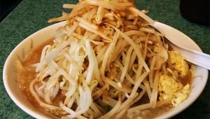 ラーメン二郎で「麺なし」を注文してみた! 大盛ぶた入りWラーメン全部マシマシ麺なし