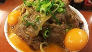 東京チカラめしがラーメン二郎系の丼料理を発売開始! 野菜マシマシの「野菜山盛り焼き牛丼」うめえ!