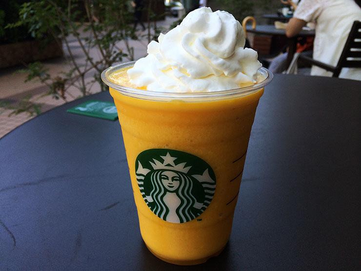 「白桃フラペチーノwithホイップクリーム」の画像検索結果
