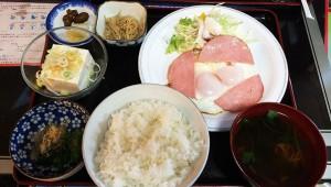 【孤独のグルメ】江東区枝川のハムエッグ定食とカツ皿 / タクシー近代化センター指定レストラン アトム