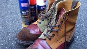 裏ワザあり! スエードやヌバックの靴をきれいに長く履く方法