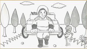 鉄拳が作った感動の実話アニメ『年賀のキヅナ』で議論勃発! なぜ犬がもらわれていったのか? 動画に隠された秘密