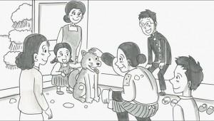 【大絶賛】絶対に泣ける鉄拳の実話アニメーション『年賀のキヅナ』が本当に泣ける(号泣)!