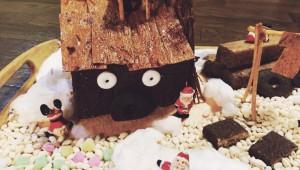 意外とかんたん! 駄菓子でお菓子の家をつくってみた