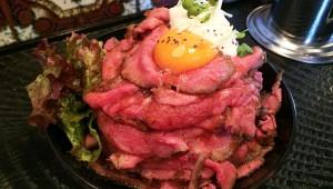 極上で大盛りなローストビーフ丼が絶品! 高田馬場のレッドロック
