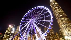 香港に新たな夜景スポット誕生! 巨大観覧車から絶景なる香港を眺める