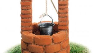 実際にセメントで作る子ども向け「井戸の模型」が地味にデキが良くて欲しいぞ(笑)