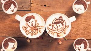 【世界初】1000杯のラテアートを使ったアニメで幼なじみとの恋愛を描く! アニメオタク「幼なじみとの恋愛なんて幻想だろ」