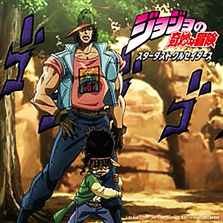 2015年1月23日深夜に放送された、アニメ『ジョジョの奇妙な冒険 ~スターダストクルセイダーズ~』第27話。そのエンディング曲が、従来の楽曲とは違い、今回の