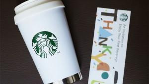 【スタバの裏メニュー&裏技】タンブラー買うとコーヒーもトッピングも無料になる最強の魔法チケットがもらえるぞ(笑)
