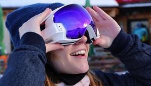 【衝撃】最新式ゴーグル『RideOn goggles』が凄すぎる! スキーやスノーボードを次世代のエンターテインメントに