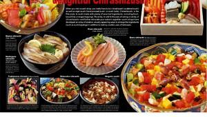 【マジかよ】外国人向け寿司カレンダーがバカ売れで完売! ちらし寿司のグラビアもあるよ(笑)