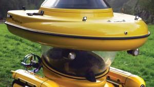SF映画に出てきそうな水陸両用車が凄い! レトロフューチャーなデザイン