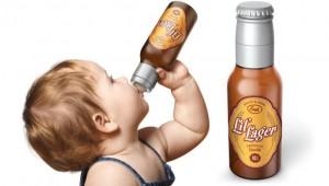 ビール瓶みたいな赤ちゃん用「哺乳瓶」が販売されて話題に