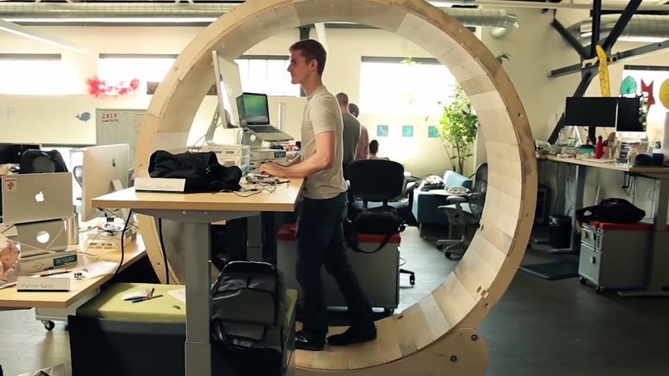 Human-hamster-wheel