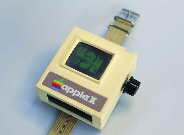apple watchにレトロバージョン登場 最新型なのに昔風の apple ii