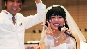 【マジかよ】17歳女子と39歳オッサンがニコニコ動画イベントで結婚! 22歳差なんだが(笑)