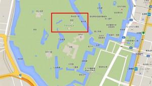 【衝撃】なんと「皇居にマクドナルドがオープンした」と話題に! 実際にGoogleマップで確認可能