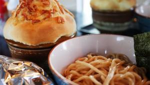 パイ生地に包まれたスープが画期的すぎるラーメン屋 / UMA TSUKEMEN