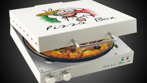 【衝撃グルメ】宅配ピザの箱みたいなピザ専用オーブンが凄いぞ(笑)!