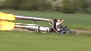 【危険】ジェットエンジンで作ったゴーカートがヤバイ!