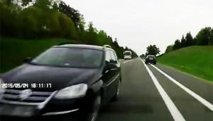 【危険】猛スピードで逆送してきたクルマがヤバイ!