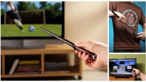 ハリーポッターの「魔法の杖」が発売中! テレビやステレオを自由自在に操れる!!