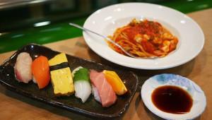 本格パスタが食べられる寿司屋で絶品イタリアンを堪能する / しげ老鮨