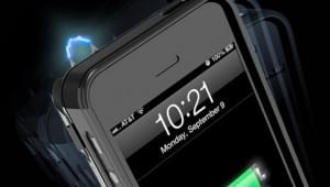【衝撃】iPhoneを強力スタンガンにできるケースが登場! 電圧95万ボルトでiPhoneも充電可能(笑)