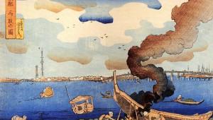 【衝撃】江戸時代に東京スカイツリーの建設が予言されていた! 浮世絵に描かれるスカイツリー / 歌川国芳