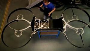 【衝撃】空飛ぶバイクを開発中! 最大飛行距離は約150km