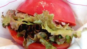 モスバーガーの特大トマトバーガー「とま実バーガー」が美味すぎで毎日食べたいぃいい!
