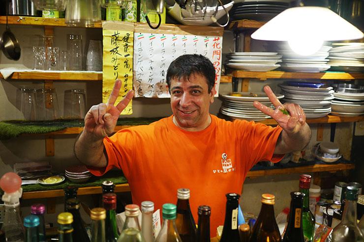 イラン人経営の居酒屋がヤバイwwwこのポテサラが400円