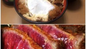 【衝撃】富士そば「牛かつ丼」を作ったが失敗 / スタッフ「普通に焼いて食った方が美味い!」