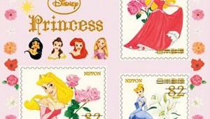 【日本郵便】ディズニーキャラクター切手の発売決定キタァァ! プーさんやディズニープリンセス