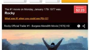 【衝撃】自分の誕生日に「どの映画が全米ナンバーワンだったか」を教えてくれるサイトが凄い!