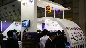 『ツーリズムEXPOジャパン』でタイ国際航空ブースが大人気! 世界最大級の旅客機A380でバンコクへ