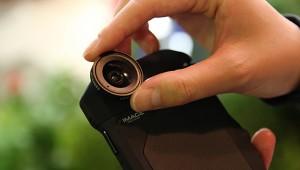 iPhoneケースに専用レンズ「IMAGE LENS SYSTEM iPRO」を装着してワンランク上の写真を撮る