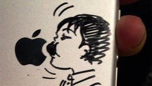 【衝撃】人気漫画「東京都北区赤羽」の清野とおる先生がiPhoneにサインした結果(笑)!