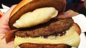 【衝撃】マクドナルド「北のいいとこ牛っとバーガー」がパクリ疑惑で炎上寸前 / 牛乳「北のおいしさぎゅっと」に酷似