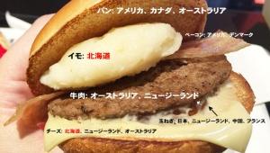 【衝撃事実】マクドナルド北海道系メニュー「北のいいとこ牛っとバーガー」が物議 / ほとんどが外国産と判明