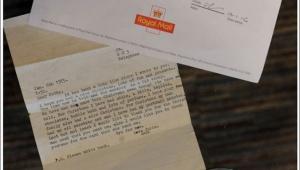 【衝撃】11歳のとき出した手紙が41歳になったら返送されてきた件