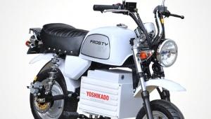 【衝撃】革命的な電動バイクがスゴイぞ! なんと電気代は月100円以下 / フロスティEV