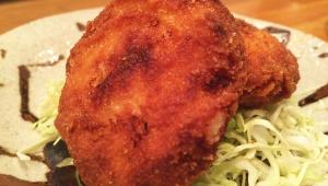 銀座の立ち食い割烹「三ぶん」が満員御礼な理由 / そこに「毛蟹クリームコロッケ」があるから