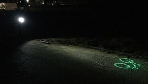 【革命】道路にレーザー光で自転車マークを描くヘッドライトがカッコ良すぎる件 / Blaze Laserlight