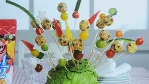 【放送事故】企業が平野レミにフルーツグラノラを使った創作料理を依頼 → 野菜に野菜をブッ刺しただけの料理完成(笑)