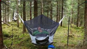 【革命】サバイバルな生活もキャンプ用ハンモックで快適 / 雨が降っても虫が飛んでても大丈夫!