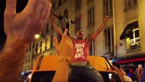 【衝撃】パリ市民が暴徒のように大暴れ! サッカー「EURO2016」でフランスが決勝進出決定